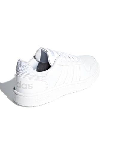 adidas adidas B42096 Hoops 2.0 Kadın Lifestyle Ayakkabı Beyaz